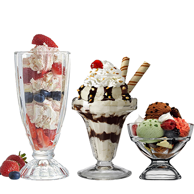 Dessert & Sundae Glasses