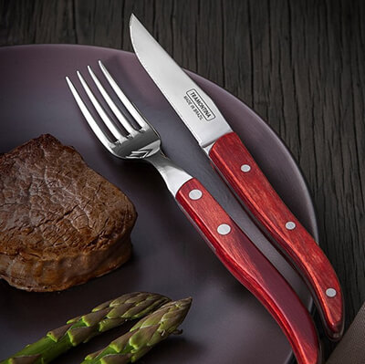 Steak Knives & Forks
