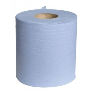 Blue Centre Feed Rolls Pack of 6