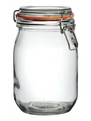 Glass Preserve Jars 2 Litre