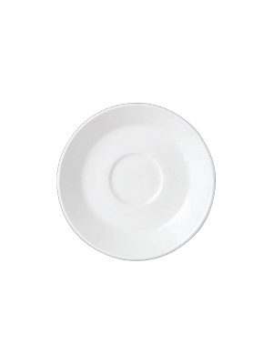 Simplicity Double Well Saucer 11.75cm