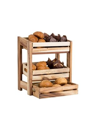 Medium Buffet Display Rack for 2/3 Medium Crates