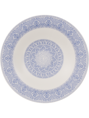 Algo Blue Deep Coupe Plate 29cm