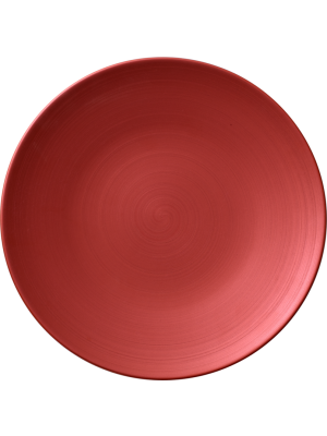 Copper Glow Coupe Flat Plate 25cm