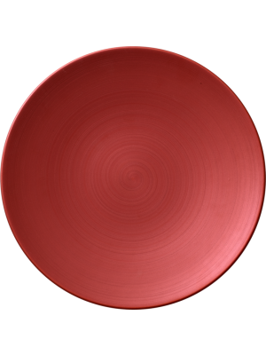 Copper Glow Coupe Flat Plate 21cm