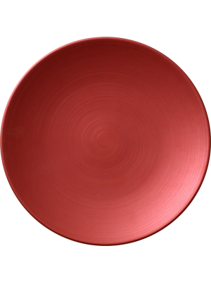 Copper Glow Coupe Flat Plate 16cm