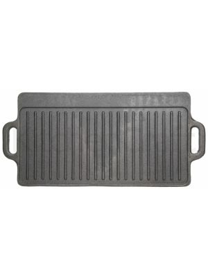 Deluxe Cast Iron Griddle 45cm x 23cm