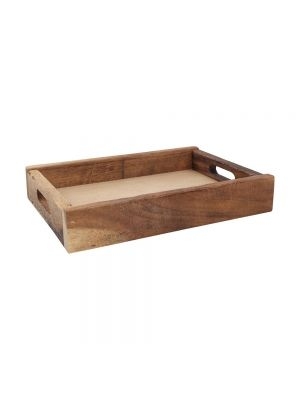 Nordic Natural Medium Wood Crate