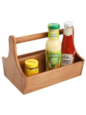 Wood Table Caddy