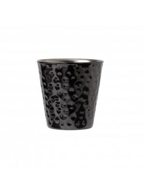 Hammered Black Nickel Double Wall Tumbler