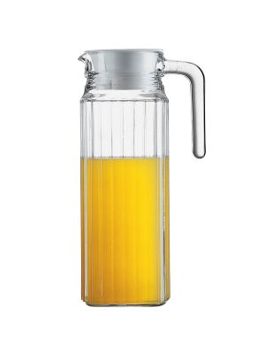 Quadro Glass Fridge Jug (2.3 Litre)