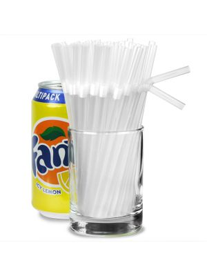 Clear Bendy Straws