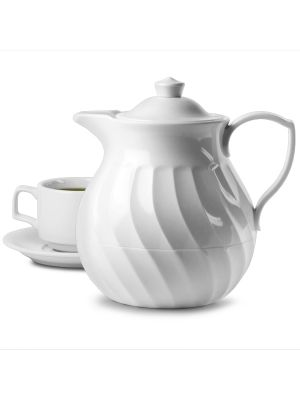 Connoisserve Teapot White 20oz