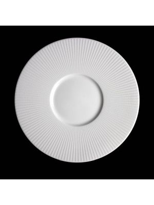 Willow Small Well Gourmet Plate 28.5cm