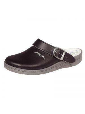 Abeba leather Clog