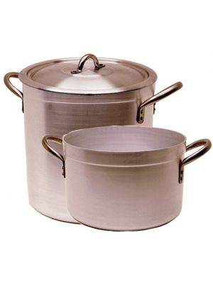 Aluminium Stewpan with Lid 65Ltr