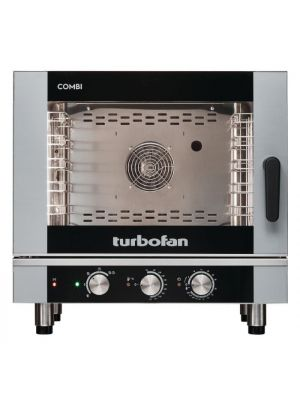 Blue Seal Turbofan Combi Steamer Oven - 5 Tray