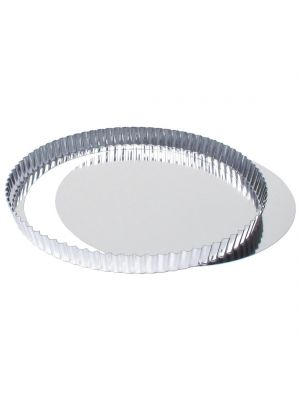 Fluted Quiche Tin With Removable Base 24cm