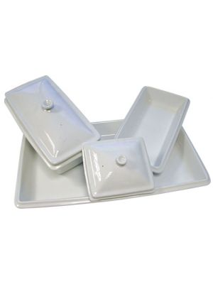 Ceramic Gastronorm Dishes - 1/2GN - 60mm Deep