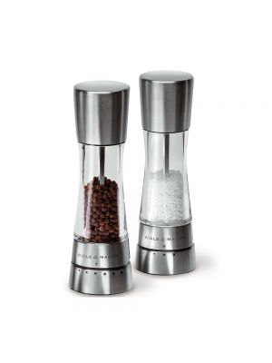 Gourmet Precision Derwent Acrylic and Stainless Steel Salt Mill