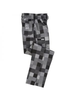 Grey Check Print Trouser