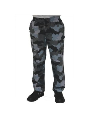 Camo Print Chefs Trousers