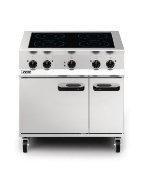 Lincat Opus 800 Induction Top Oven Range OE8017