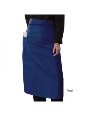 Bistro Apron wth Side Pocket in 15 Colours