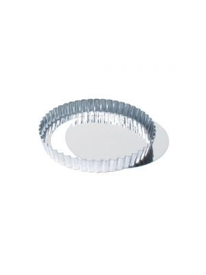 Fluted Quiche Tin With Removable Base 20cm