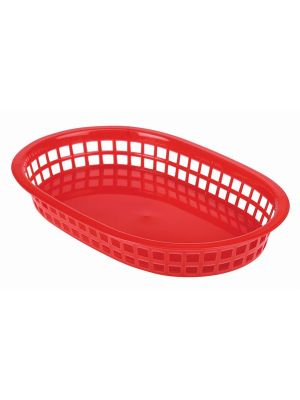 Red Fast Food Basket 27.5x17.5cm