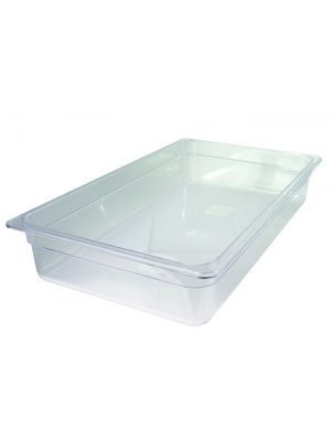 Clear Gastronorm Container - 1/1 Full Size (65mm Deep)