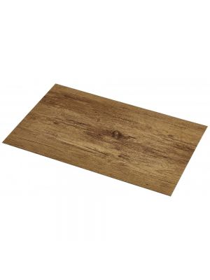 Vinyl Place Mat Light Wood