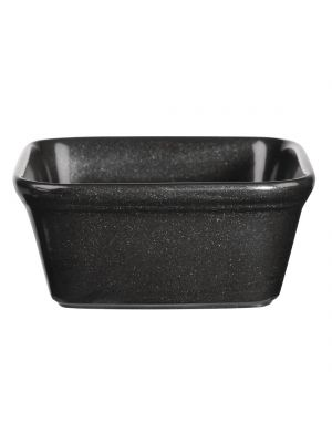 Black Churchill Square Dishes 12cm