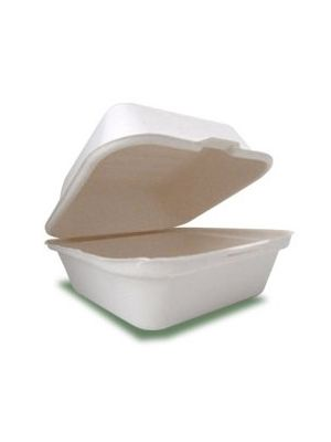 600ml Rectangular Hinged Box (500)