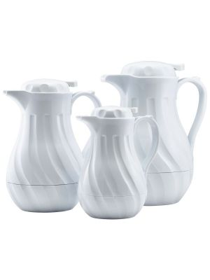 Connoisserve Coffee Pot White 64oz