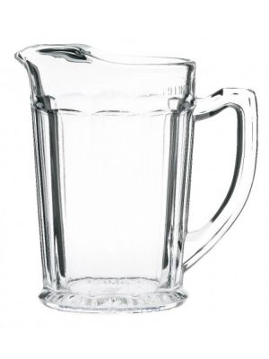 Ice Lipped Glass Jug (2 pint) LCE
