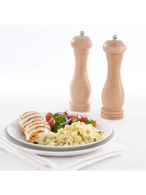 Cole & Mason Precision Beech Capstan Pepper Mill 200mm