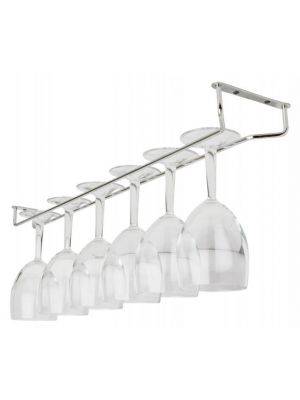 24″ Glass Hanger Chrome