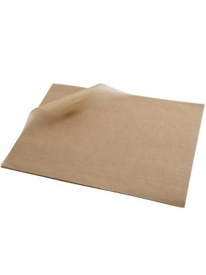 Greaseproof Paper Square Brown