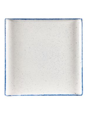 Stonecast Hints Indigo Blue Square Buffet Tray 30cm