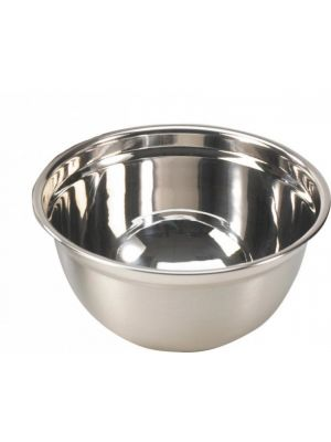 Stainless Steel Curved Mixing Bowl 8Ltr