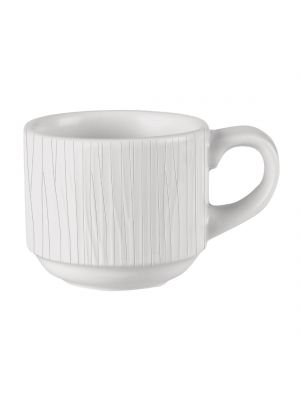 Bamboo White Stacking Cup 10oz