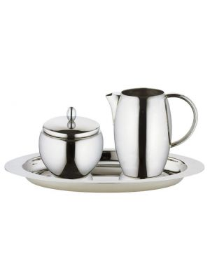 Elia Stainless Steel 3 Piece Creamer Set