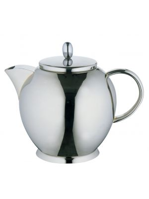Designer Tea Pot Stainless Steel 1.2L