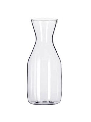 34 OZ/ 1.0L CARAFE, POLYCARBONATE, TRADITIONAL, CLEAR
