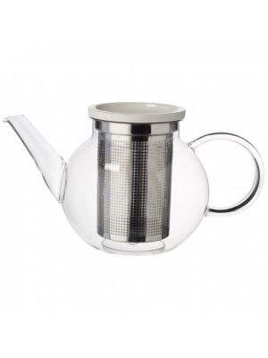 Artesano Glass Tea Pot with Strainer 17oz
