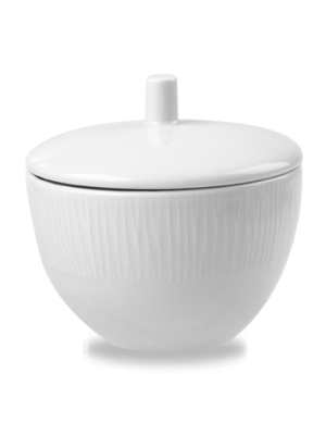 Bamboo White Sugar Bowl 8oz