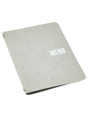 Washable Paper A4 Menu Holder Black