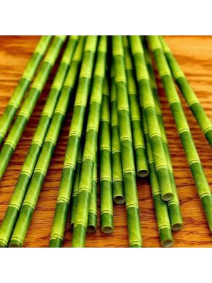 Bamboo Paper Biodegradable Drinking Straws