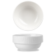 Bamboo White Stacking Bowl 10oz